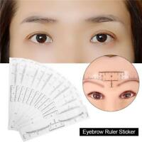 Microblading Ruler Disposable Eyebrow Stencil Permanent Makeup Supplies DD