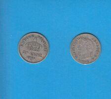 Gertbrolen 20 Centimes argent Napoléon III tête laurée 1867 Paris Exemplaire N°2