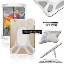 """For Various 7"""" 8"""" LG G Pad Tablet - Shockproof Silicone Stand Cover Case"""