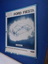 1978 FORD FIESTA TECHNICIAN REFERENCE MANUAL TRANSAXLE CAR AUTO REPAIR