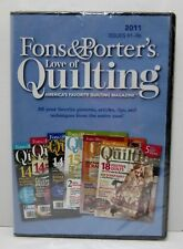 Fons & Porter's Love of Quilting Computer CD 2011 Issues 91-96 Compilation