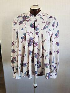Phase Eight Damen Bluse Gr.38 40 UK 12  Blumen Top Oberteil  Blogger Fashion