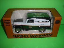 LIBERTY 1953 WILLYS JEEP PANEL TRUCK ANN ARBOR MI Harley Davidson 1:25 NEW MINT