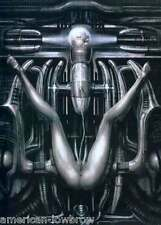 HR Giger Art Poster Print Stillbirth Machine Demon Biomechanical Baphomet Alien