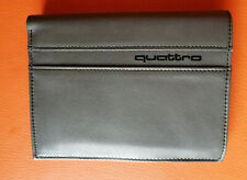 Audi quattro collection leather grey wallet