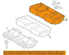AUDI OEM 16-18 A3 Sportback e-tron Rear Seat-Cushion Cover 8V0885405AMR0B