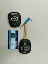 Car Remote Key Shell fit for Toyota Prado RAV4 2005DJ1379 12BBY-08 2001~2010