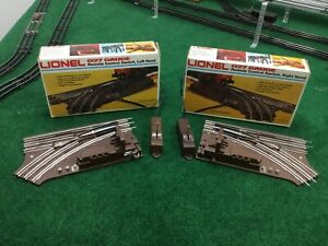 Lionel Lot O27 Remote Switches 6-5121 and 6-5122
