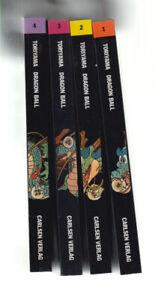 Dragon Ball 1. Auflage 1997 Carlsen (0-1) Top Nr. 1,2,3,4 Manga