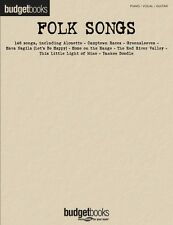Folk Songs Sheet Music Budget Books Piano Vocal Guitar SongBook NEW 000311841