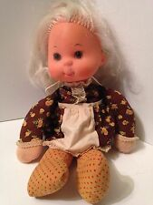 Vintage 1975 Mattel MAMA ONLY and Baby Beans Plush Doll