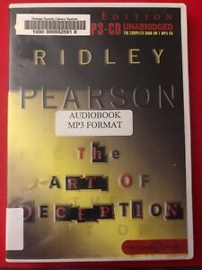 The Art of Deception by Ridley Pearson: Audiobook MP-3 CD Unabridged Ex-Library