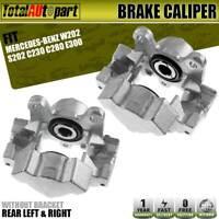 2x Disc Brake Caliper RearLeft&Right for Mercedes-Benz C230 C280 E300 SLK230