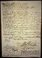1844 Antilles Signed by Leopoldo O'Donnell & Pedro Abad Villareal & Archbishop