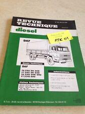 Revue Technique Automobile Diesel Camion DAF FA FT 2105 2305 DH DHR DHU RTA ETAI