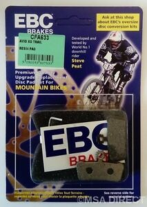 EBC Resin Mountain Bike Brake Pads fits SRAM GUIDE R / RS / RSC / ULTIMATE