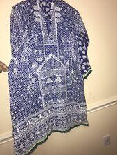 Indian Pakistan 1 Pc Kurti Kameez,printed Lawn Shirt Maria B Asim Jofa Agha Noor