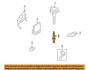 NISSAN OEM Ignition-Spark Plug 22401JK01D