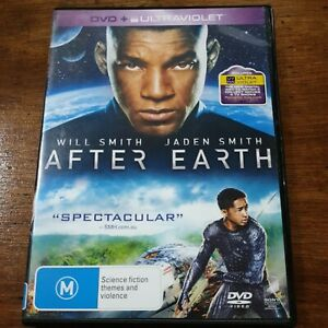 After Earth Will Smith DVD R4 VERY GOOD - FREE POST