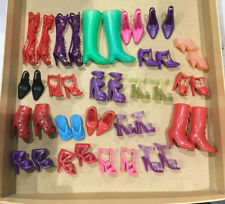 BARBIE LOTTO SCARPE Y SHOES SCHUHE CHAUSSURES ACCESSORI OUTFIT SET LOT OOAK
