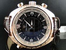 Mens Aqua Master Joe Rodeo Yellow Gold World Diamonds Watch W#326 .75 Ct