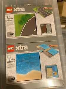 Lego Xtra 853841 + 853840 - Road Playmat - Road + Sea - New & Sealed  [Retired]