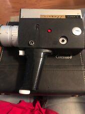 Vintage Cinemax-8  C401 Super 8 Movie Camera Case Tools Excellent Condition