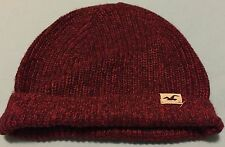 Hollister Red Fashion Beanie Hat Hood ( One Size )