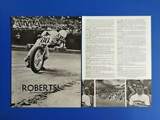 Vintage 1984 Kenny Roberts Motocross Rider - Original 3 Page Article Interview