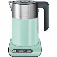 Bosch 1.5l 2000w Black Grey Turquoise Electric Kettle 2000-240 Twk8612p