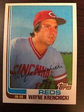 1982 Topps Traded Wayne Krenchicki Cincinnati Reds 58T