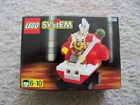 LEGO System Castle - Super Rare - 2586 King & Throne - Chess King - New & Sealed