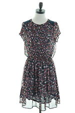 CREW CLOTHING CO. Womens Sundress Size 12 Medium Multi Floral Polyester Vintage