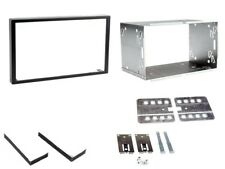 PEUGEOT 308 2007> REPLACEMENT DOUBLE DIN CAGE KIT HEADUNIT FASCIA TRIM
