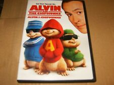 Alvin and the Chipmunks (DVD, 2008, Canadian Dual Side) Used.