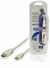Bandridge High Speed Mini HDMI with Ethernet Cable 2m