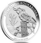2016 1 Oz Silver $1 Australian KOAKABURRA BU Coin.