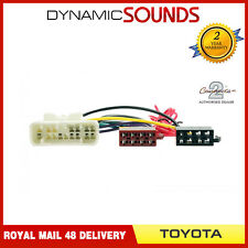 CT20TY02 Car Stereo ISO Wiring Harness Adaptor Lead for Toyota Landcruiser 2003>
