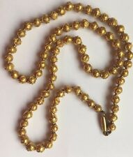 Georgian 18ct Gold Ball Chain Antique Necklace