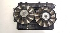 LEXUS IS 220D TWIN MOTOR FAN & FRAME DENSO 12V GENUINE 16363-26060 / 2006