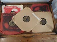5 x The Ink Spots 1940's  Shellac Records Brunswick Label