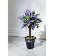 Lavendel Topf In Deko Blumen Kunstliche Pflanzen Gunstig Kaufen Ebay