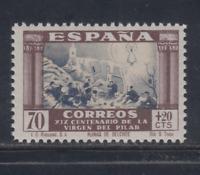 ESPAÑA (1940) MNH NUEVO SIN FIJASELLOS - EDIFIL 895 (70 cts + 20 cts) LOTE 2