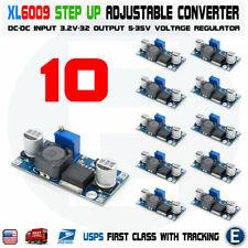 10pcs Xl6009 Boost Buck Module Dc Dc Adjustable Step Up Voltage Converter Ps