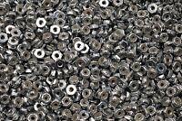 (1000) Nyloc Jam Nuts 6-32 x 5/16 Zinc Plated Nylock #6 Hex Locking Machine Nut