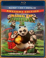 DREAMWORKS KUNG FU PANDA 3 BLU RAY 1 DISC ONLY FREE WORLD WIDE SHIPPING BUY IT
