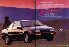 1989 Chevrolet Beretta GT 2-page Advertisement Print Art Car Ad D218