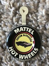 Hot Wheels 1967 Custom Barracuda Redline Collectible Pin Vintage