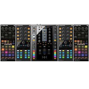 NI Traktor Kontrol X1 Mk2 Pair, F1 Pair & Z2 Mixer Digital DJ Controller Package