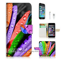 ( For iPhone 6 Plus / iPhone 6S Plus ) Case Cover P0040 Colorful Leaf